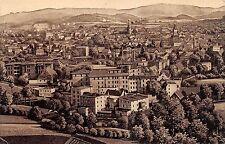 AK Hirschberg in Schlesien Total Ortsansicht Postkarte vor 1945
