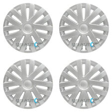 "4 NEW 16"" Silver Hubcaps Rim Wheel Covers SET for 2010-2014 VOLKSWAGEN VW JETTA"