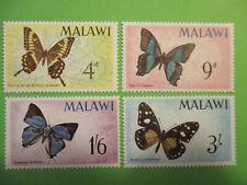 Malawi 1966 SG#'247-250 Butterflies MNH Set.
