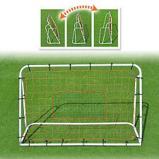 New 6'x4' Adjustable Soccer Ball Rebounder Kicking Training Practicing Equipment