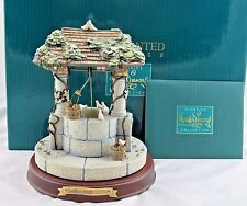 """WDCC Enchanted Places """"Snow White's Wishing Well"""" in Box with COA"""