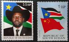 South Sudan 2012 Independence Flag President Rare Unissued MNH