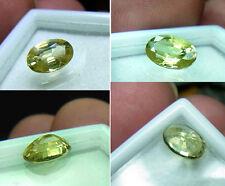 Top-gelber Chrysoberyll-Oval-Cut, 1,35 ct, VVS