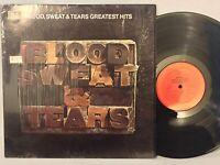 Blood Sweat & Tears Greatest Hits EX in SHRINK