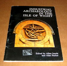INDUSTRIAL ARCHAEOLOGY ISLE OF WIGHT ENGLAND RAILWAYS Maps Photographs Britain