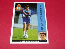 LUIS CEMBRANOS ESPANYOL BARCELONA PANINI LIGA 95-96 ESPANA 1995-1996 FOOTBALL