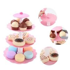 Food Toy Children Cake Desserts Tower Party Tea Set Pretend Role Play Plastic