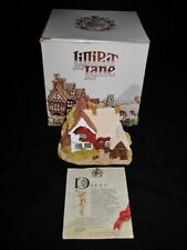 Lilliput Lane Pargetters Retreat, w/Box, Deed & Signed Gayle Greer
