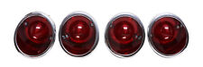 1963-1967 Corvette  Tail Light Assembly, Set of 4