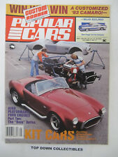 Popular Cars/ Custom Rodder  May 1983  Randy Lashbrook, 70 1/2 Camaro