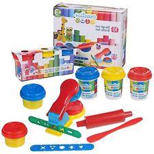 10 pezzi per bambini PLAY DOUGH Doh Set modellazione Craft KIT Giocattolo con Strumenti