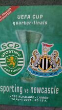Sporting Lisbon V Newcastle United 04/05