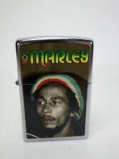 "Zippo  ""BOB MARLEY""  Street  Chrome  -  NEU & ovp - #1041"