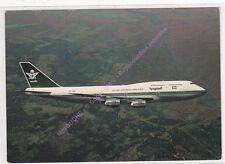 CPSM AVION PLANE BOEING 747-368 SAUDIA ARABIAN AIRLINES EN VOL