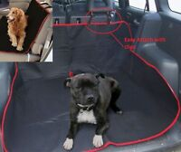 2 in 1 Car Boot Liner Protector Waterproof Seat Cover Heavy Duty Pet Dog Cat Mat