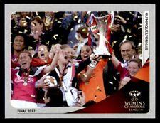 Panini Champions League 2012-2013 UEFA Women's Champions Lyon No.588