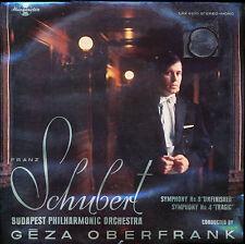 Schubert Oberfrank Budapest Phil Symphony 8 Unfinished & 4 Tragic Hung LPX 11570