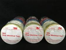 3 x Temflex 3M Electrical PVC Insulation Tape Rainbow 10 Pk Scotch Super 33 Bulk