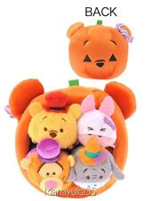 Disney Store Japan 2016 Halloween Pooh Pumpkin House