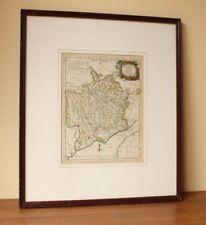 Antique Original 1700-1799 Date Range Antique Europe County Maps