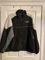 Men's Xxl Vintage American Reebok College Shellsuit Jacket
