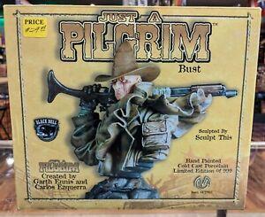 Moore Black Bull Just a Pilgrim Bust 445/999