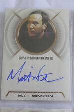 Star Trek Enterprise season 2 Matt Winston A18 auto autograph card