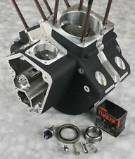 ULTIMA BLACK ENGINE CASE EVOLUTION EVO HARLEY MOTOR SOFTAIL ELECTRA GLIDE SUPER