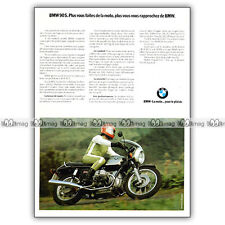 R90S, R90 #phpb.001430 Photo BMW R 90 S 1975 MOTORCYCLE A4 Advert Reprint