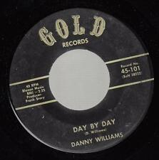 HEAR! Rockabilly Bopper Knoxville 45 DANNY WILLIAMS Day By Day on Gold