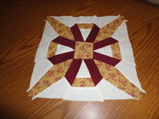Plastic Templates - Lover's Knot quilt