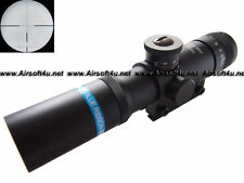 Airsoft Tactical BEEMAN SS2 4x21 Blue Ribbon AO Rifle Scope w/ 11mm Dovetail