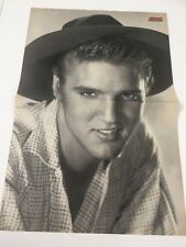 Elvis Presley Bravo original 80`s German Magazine Poster 3 Teile