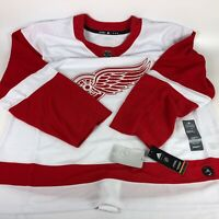 Adidas NHL Detroit Red Wings Hockey Jersey White CA7085 Size 60 - NWT