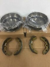 Club Car Precedent & DS Golf Cart Brake Shoes Brake Drums Brake Shoe & Drum Kit