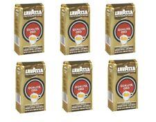 Lavazza Qualita Oro Coffee 250g Roasted Ground Coffee 100% Arabica | 6 PACK