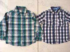 Mexx Benetton Hemd T-Shirt 2 Stck. Set langarm kurzärmlig Gr. 98 104 Neu