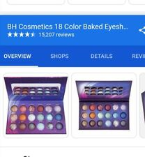 BH Cosmetics Galaxy Chic Baked Eyeshadow Palette Brand New 18 Colours