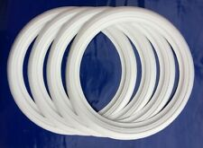 "Portawall | Sidewall 15"" tire Whitewall for classic car 4pcs Genuine Rubber Band"