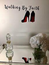 Black Home Decor Custom Wall Vinyl Ladies Inspiration Quote Decal Sticker