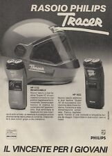 X3135 Rasoio PHILIPS Tracer - Pubblicità d'epoca - 1984 vintage advertising
