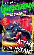 Attack of the Mutant GOOSEBUMPS  AUDIO BOOK ON CASSETTE NEW