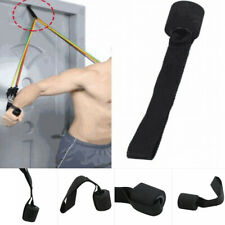 Home Fitness Training Exercise Resistance Bands Over Door Anchor Elastic Band