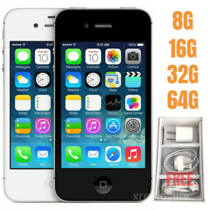 Apple iPhone 4S 8GB 16GB 32GB 64GB Factory Unlocked Smartphone SET Free shipping