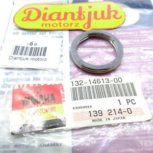 NOS YAMAHA YG1 YL1E YL2 GT1 HS1 LS2 YZ80 TY80 EXHAUST PIPE GASKET 132-14613-00