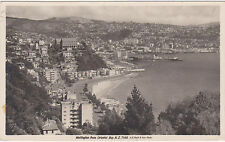 RPPC,Wellington,New Zealand,View from Oreintal Bay,Used,Wainui,1936