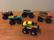 Hot Wheels Monster Jam Trucks Scooby-Doo Reptoid Lot Of 5
