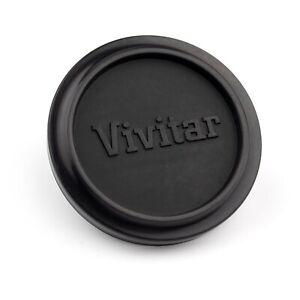 Genuine VIVITAR 49mm (51mm) RUBBER PUSH-ON LENS CAP… fits 28mm f/2.8 etc.