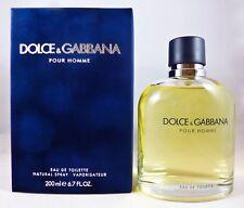 DOLCE & GABBANA POUR HOMME Eau de Toilette Spray 200 ml