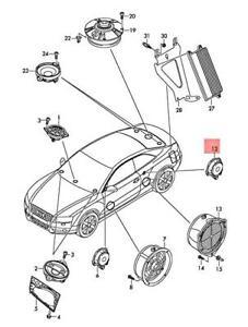 Genuine AUDI A4 Avant S4 quattro A4L A5 S5 Cabriolet treble speaker 4F0035399A